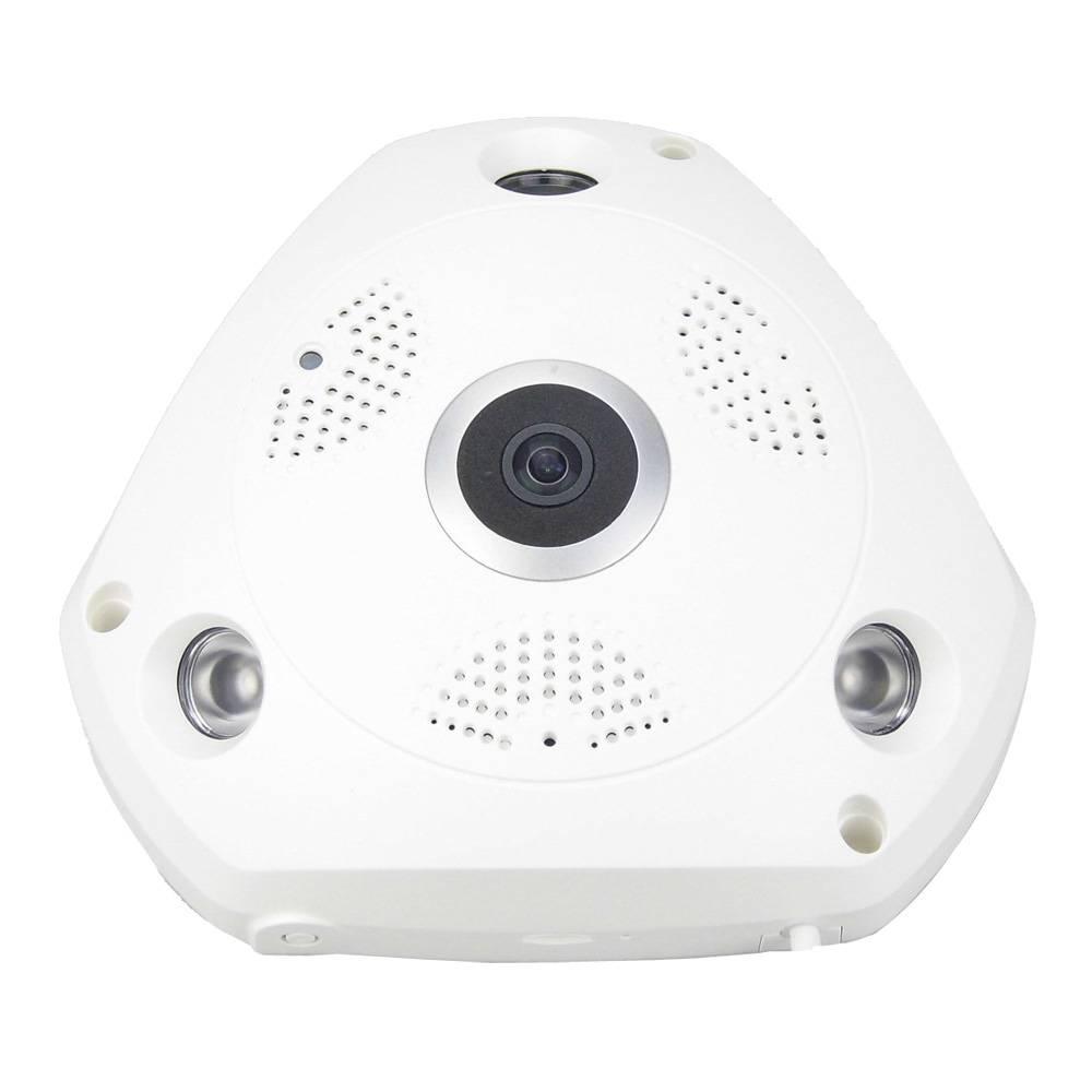 Camera IP 360 độ hiệu ứng 3D thực tế ảo HD 960P P2P