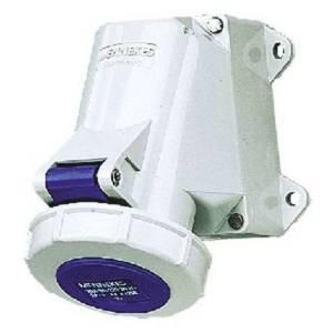 Ổ cắm công nghiệp gắn tường 16A-3P-230V-6H-IP67