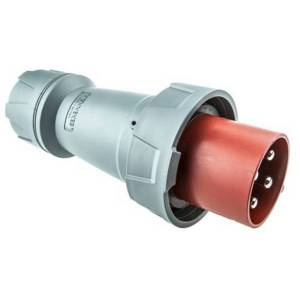 Phích cắm công nghiệp 125A-4P-400V-6H-IP67
