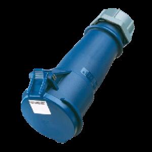 Đầu nối nguồn công nghiệp 32A-3P-230V-6H-IP44