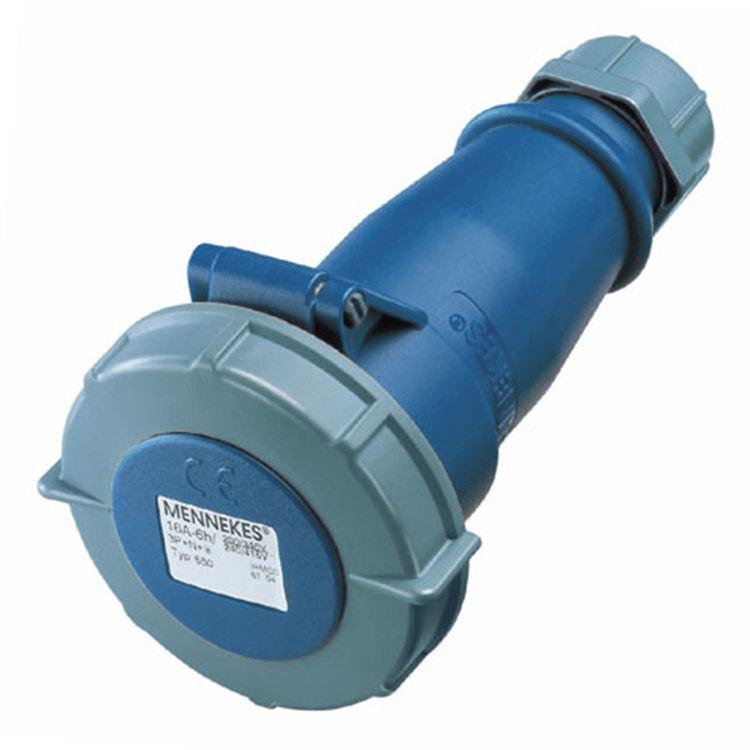 Đầu nối nguồn công nghiệp 32A-3P-230V-6H-IP67