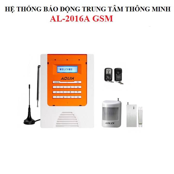 Báo trộm qua điện thoại cao cấp AL-2016A + 2 remote cao cấp