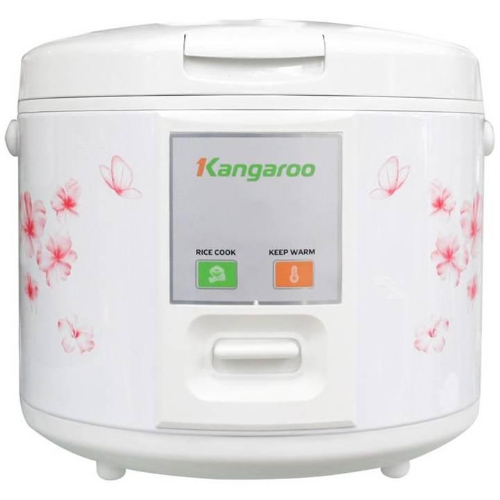 Nồi cơm điện Kangaroo KG14B 1.2L (Trắng)