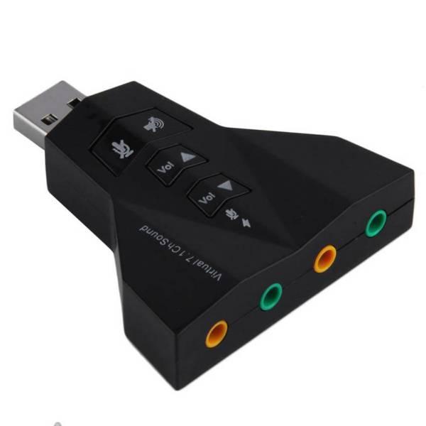 Chuyển USB sang tín hiệu âm thanh Vlrual 7.1 Channel