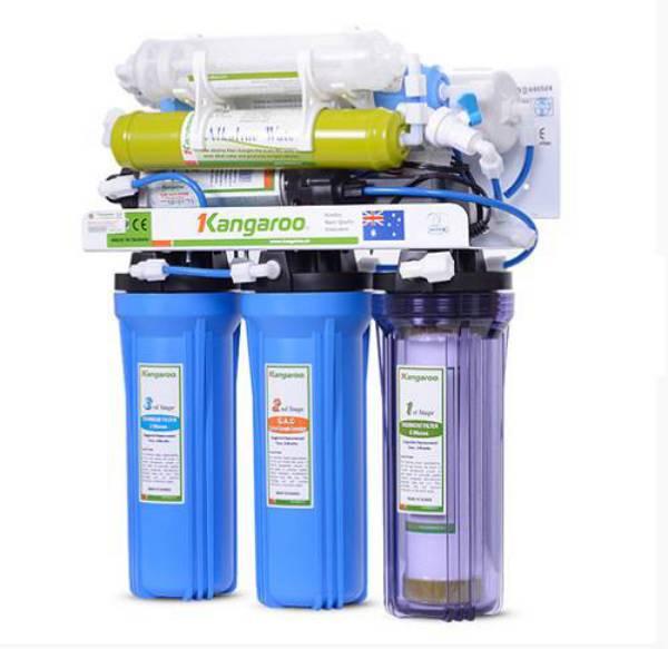 Máy lọc nước RO với cấu tạo không vỏ giúp tiết kiệm không gian cho cả gia đình