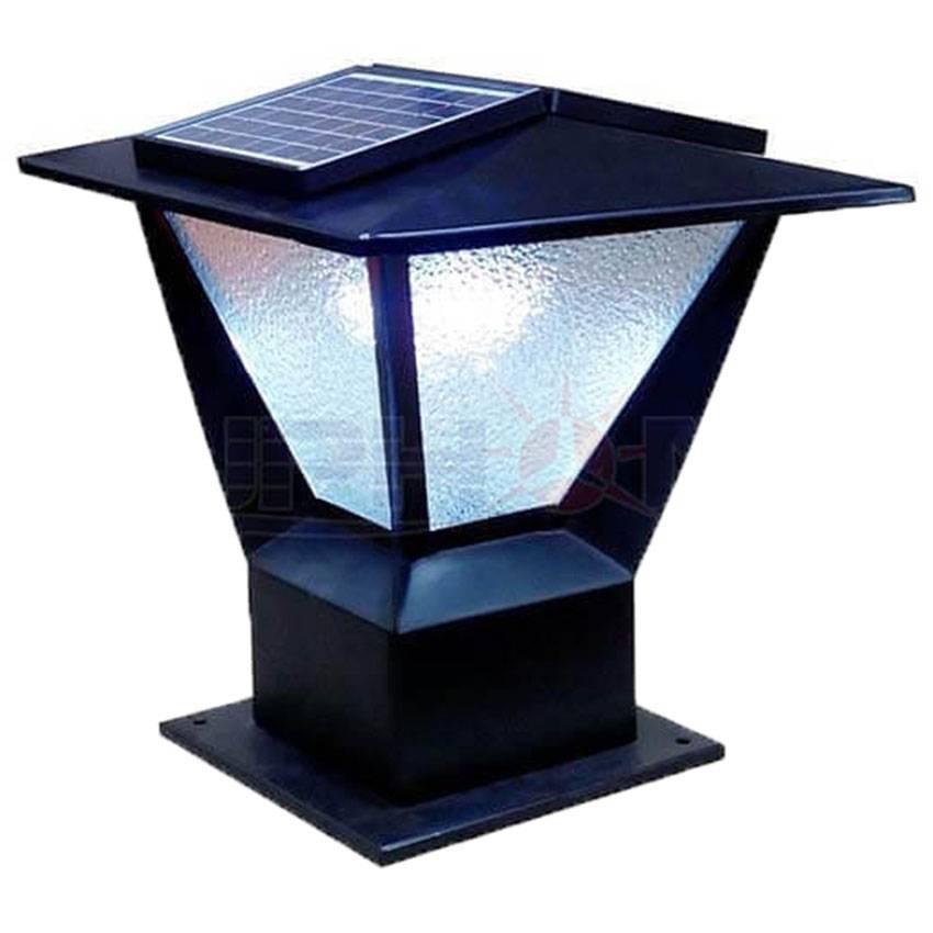 Đèn cổng năng lượng mặt trời SolarV 2 tấm pin