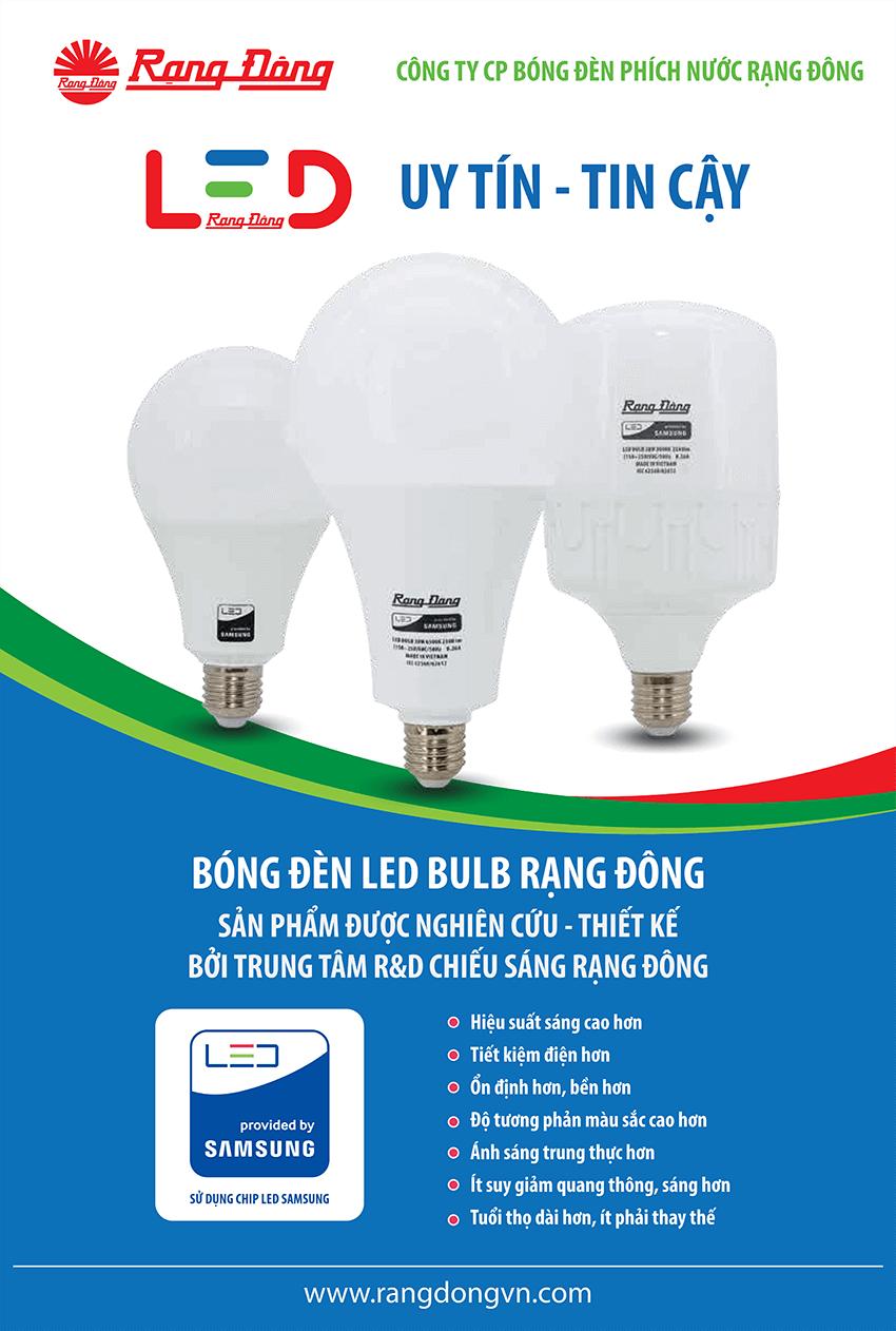 Bóng đèn LED (LED A80N1/12W) E27