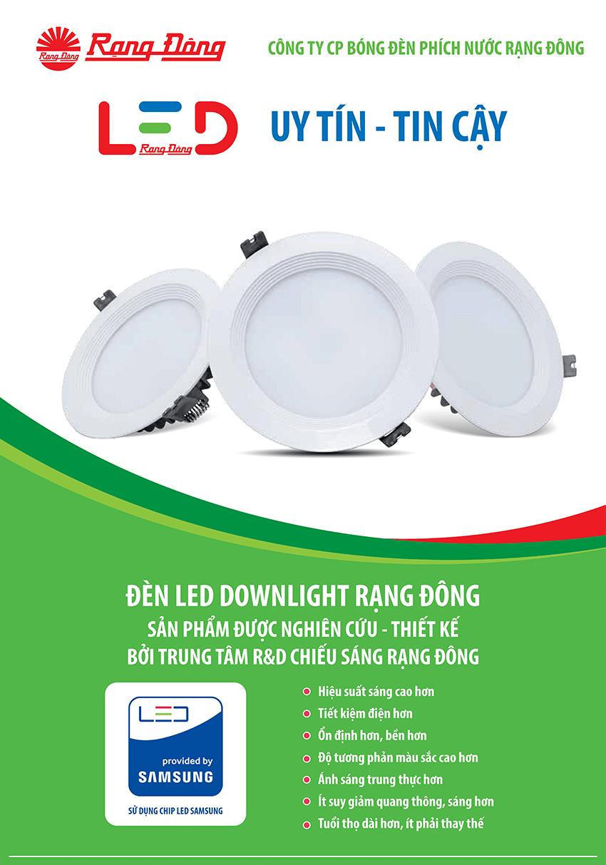 Đèn Led Downlight D AT04L 110/9W