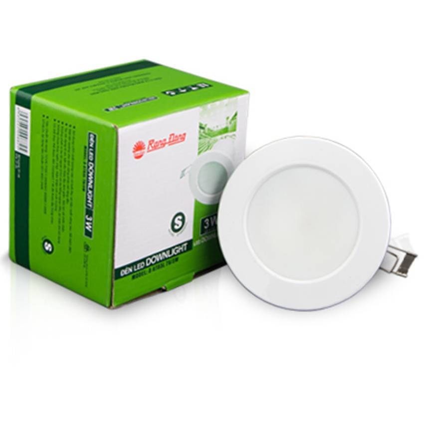 Đèn LED Downlight (S) D AT03L 76/3W
