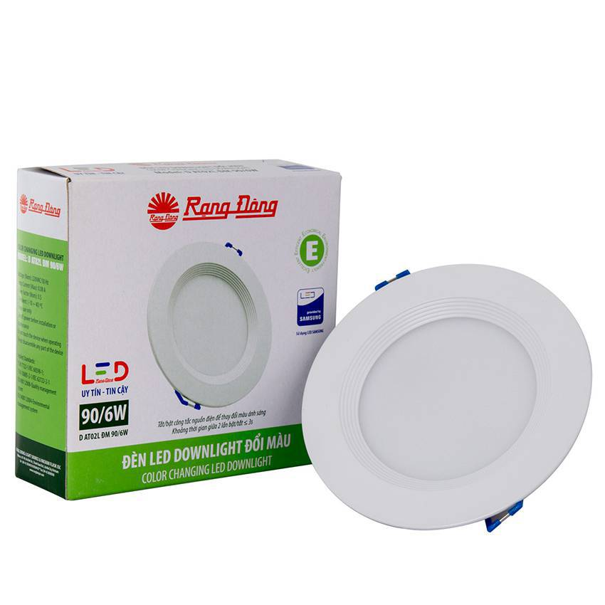 Đèn Led Downlight đổi màu D AT02L DM 90/6W