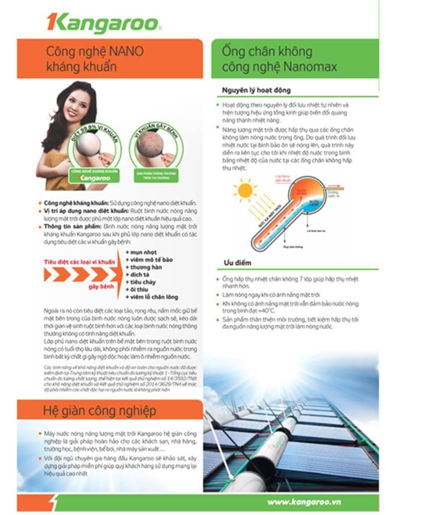 Máy năng lượng mặt trời Kangaroo PT1416