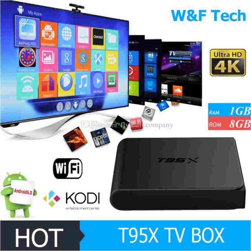 Android Tivi Box T95X – RAM 2G – ROM 8G