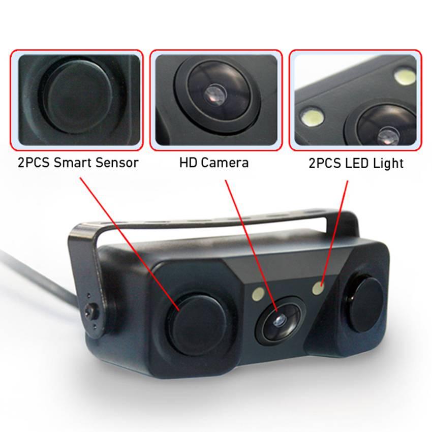 Camera lùi ô tô 3 trong 1 C716