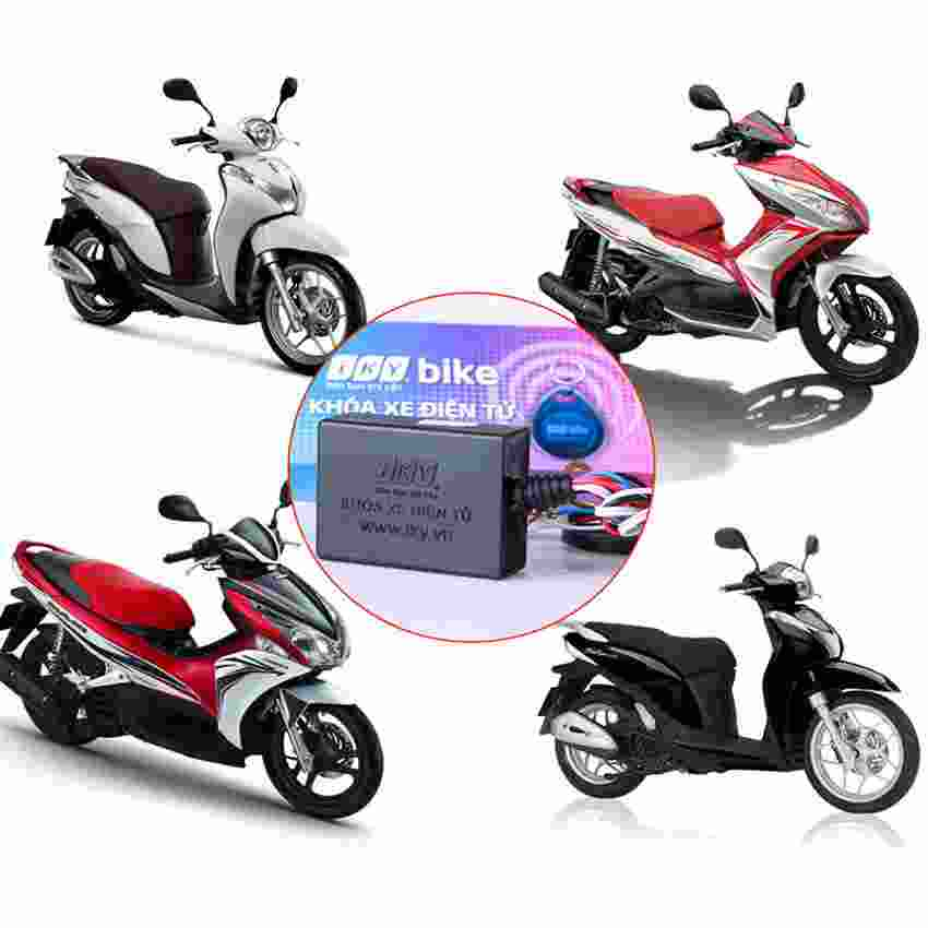 Khóa chống trộm xe máy thẻ từ Iky Bike (Dây Kích)
