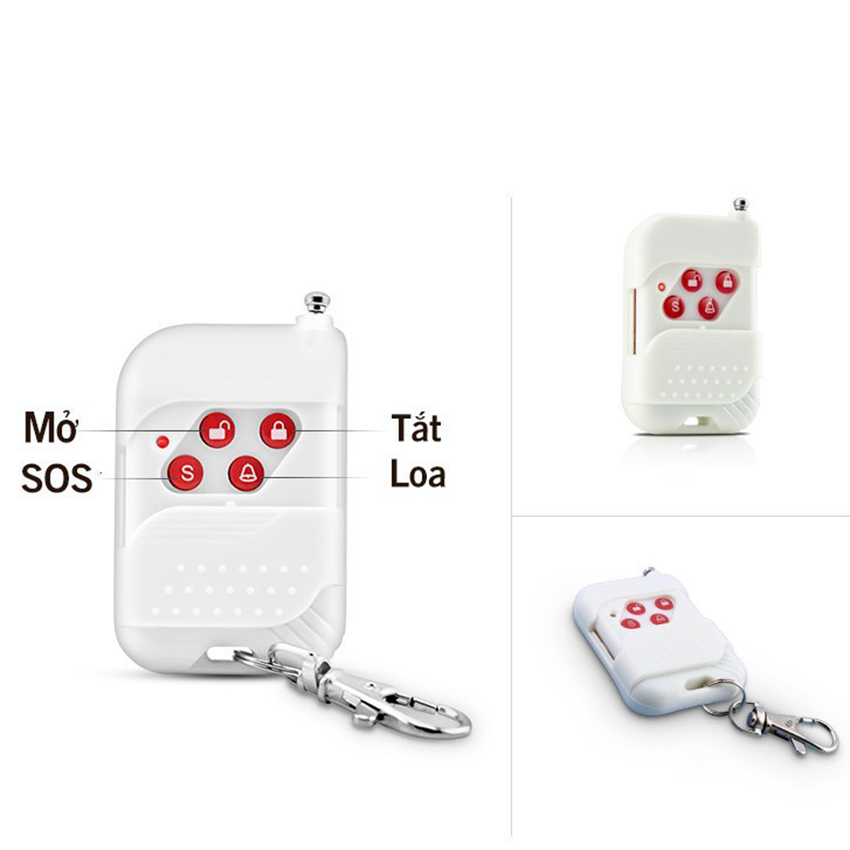 Remote điều khiển từ xa tần số 433Mhz