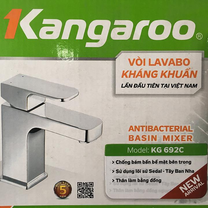 Vòi Lavabo kháng khuẩn KG 692C