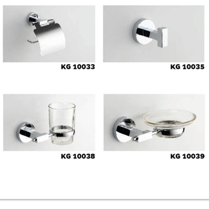 Bộ phụ kiện phòng tắm Kangaroo 6 món KG10000