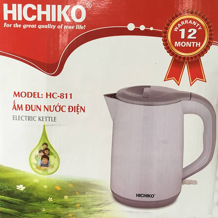 Ấm siêu tốc Hichiko 1.8L HC-811