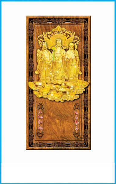 Lịch gỗ Phúc - Lộc - Thọ (Kèm cuốn lịch)