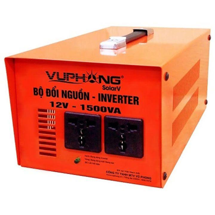 Bộ đổi nguồn / kích điện (inverter) sine mô phỏng 12V-1500VA