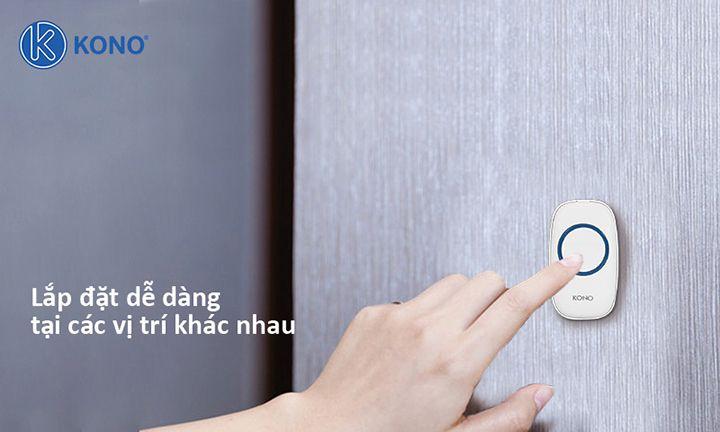 Chuông cửa không dây cao cấp KONO KN-M526