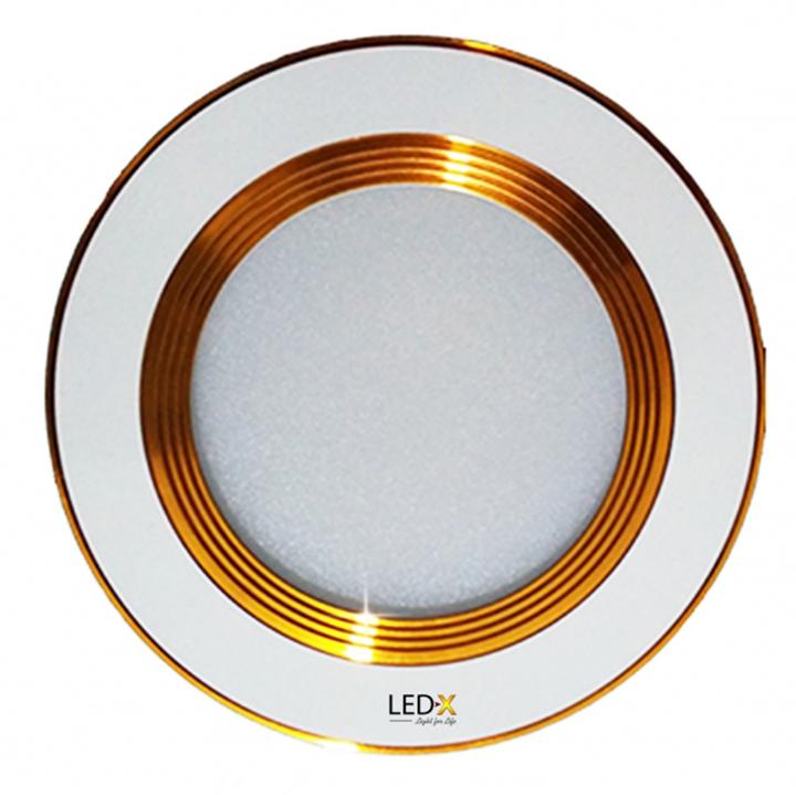Đèn Led Downlight âm trần đổi màu 7W cao cấp