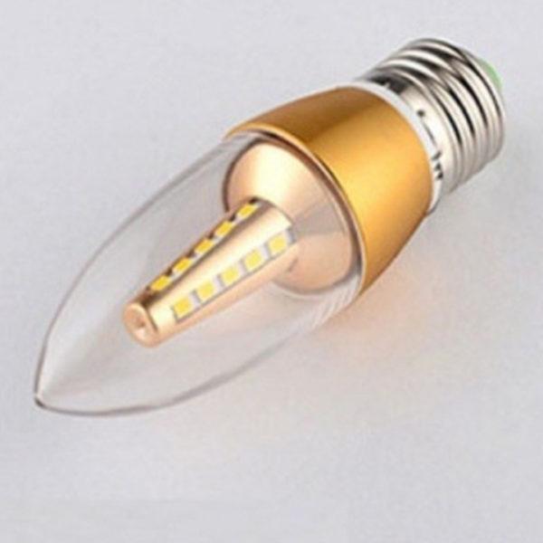 Bóng đèn nến siêu sáng LED 5W E27