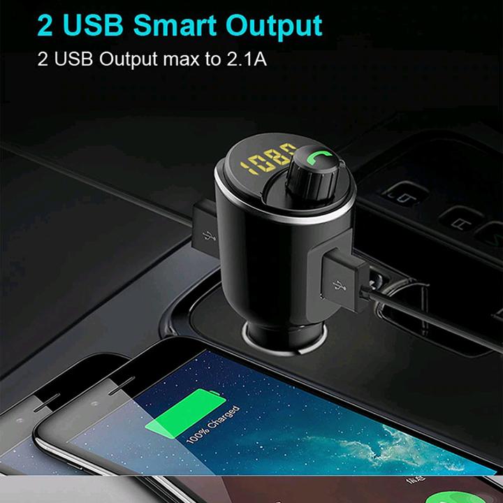 Bluetooth xe hơi đa năng phát nhạc MP3, FM, gọi thoại rảnh tay